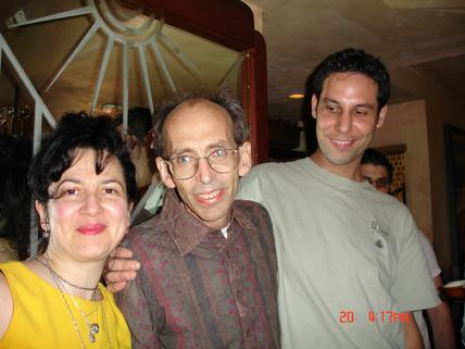 Ms. Gutman was delighted to be able to contribute her signed CD�s to the auction as well as to present copies of her personalized CD�s �Healing Resonance©� and �Yearning for Peace� personally to Phil Sheremeta at the Benefit, held at Chez Paniesse, Nov. 2005